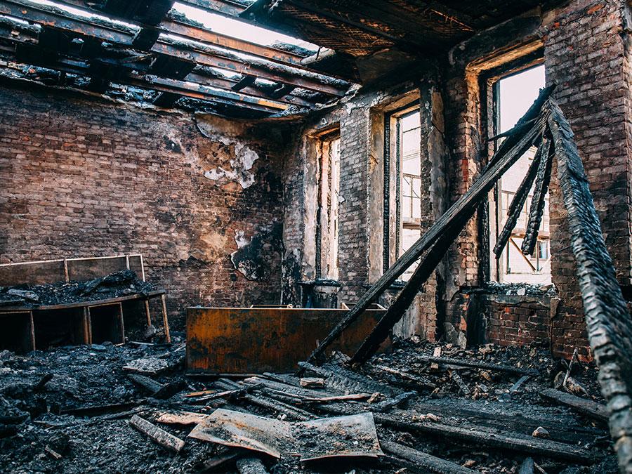 fire damage san diego