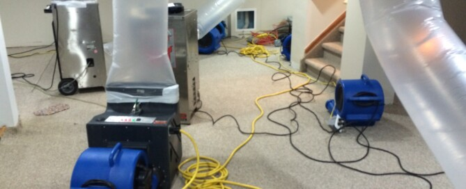 flood restoration equipment